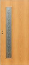 Симпл (дверь в сборе) ПО миланский орех