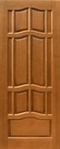 Межкомнатная дверь из массива Ампир ПГ темный орех